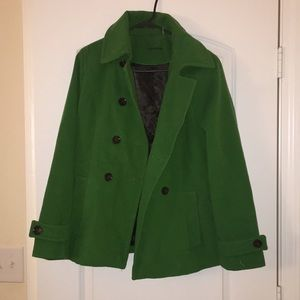 Calvin Klein plush velvet coat.